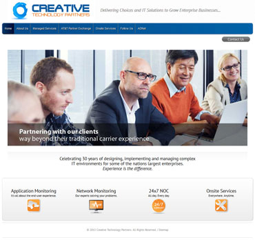 Creative Technology Partners home page