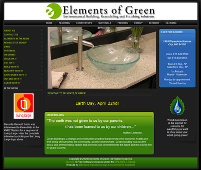 Elements of Green green building products image